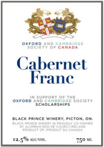 cabernet franc - oxford & cambridge
