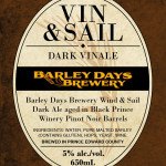 Vin & Sail label