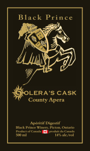 Black Prince Winery - Solera's Cask Label Proof copy